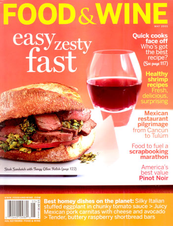 press food and wine magazine