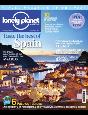 press lonely planet magazine
